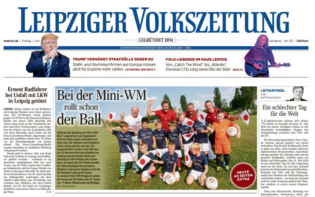 Wir sind (Mini) WM Sponsor
